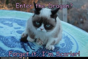 Enter the Dragon?  Forget it, I'm Scarier!