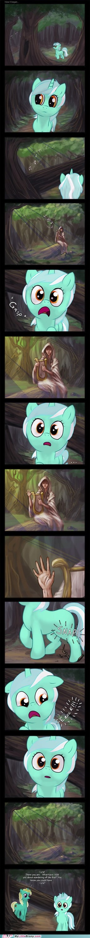 Lyra and the Everfree Sage