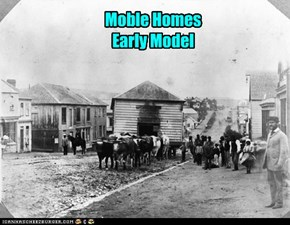 Moble Homes Early Model