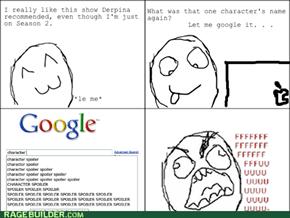 Google Autocomplete - Spoiler Jerk