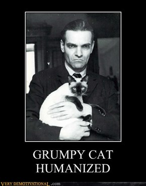 GRUMPY CAT HUMANIZED