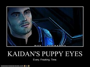 KAIDAN'S PUPPY EYES
