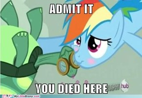 Rainbow Dash is so Adorable when She's Not Trying to be