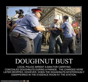 DOUGHNUT BUST