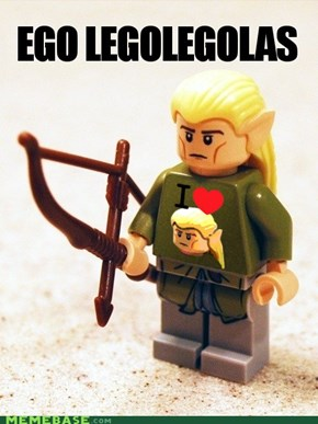 EGO LEGO LEGOLAS