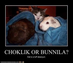 CHOKLIK OR BUNNILA?
