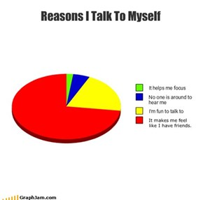 Reasons I Talk To Myself