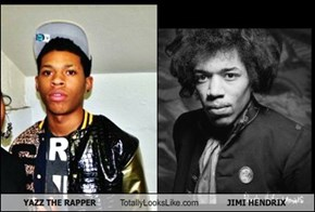YAZZ THE RAPPER Totally Looks Like JIMI HENDRIX