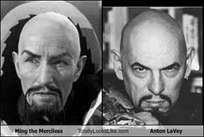 Ming the Merciless Totally Looks Like Anton LaVey