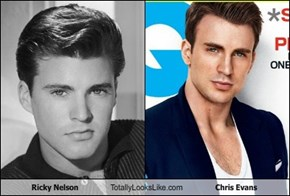 Ricky Nelson Totally Looks Like Chris Evans