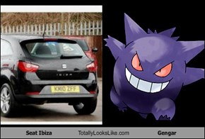 Seat Ibiza Totally Looks Like Gengar