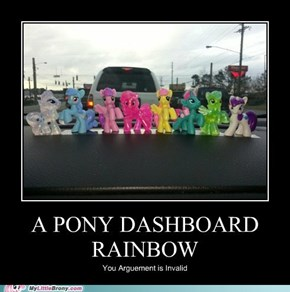Pony Dashboard Rainbow
