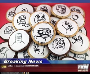 Breaking News - buttons- u know what SCREW THAT SHIT!