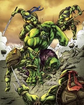 TMNT vs Hulk