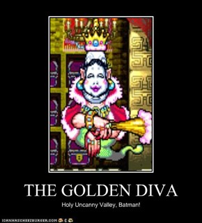 THE GOLDEN DIVA