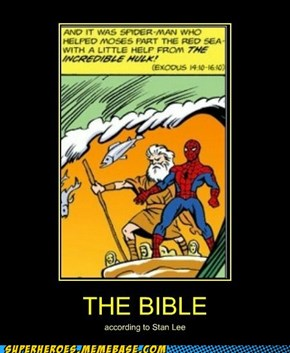 Stan Lee Wrote the Bible?
