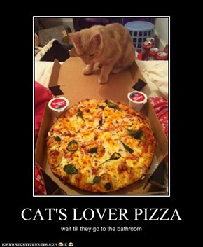 CAT'S LOVER PIZZA