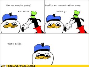 Dolan en goobe gos campen.