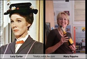 Lucy Carter Totally Looks Like Mary Poppins