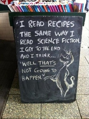 Recipes Are Rather Unbelievable