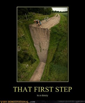 THAT FIRST STEP
