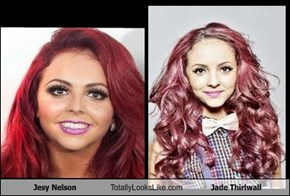 Jesy Nelson Totally Looks Like Jade Thirlwall