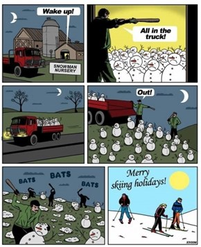 Stop Snowman Harvesting for Winter Sports Before it's too Late!