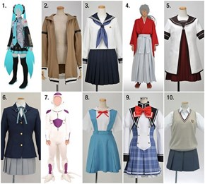 Top Ten Cosplay Costumes of 2012