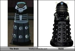 The Brain Totally Looks Like Dalek