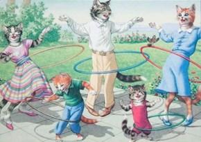 Cat Hula Hoop