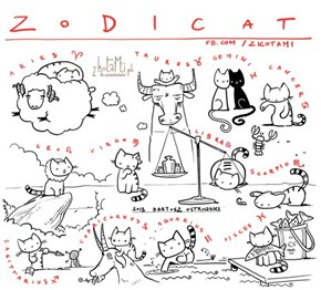 What's YOUR Sign of the Zodicat?