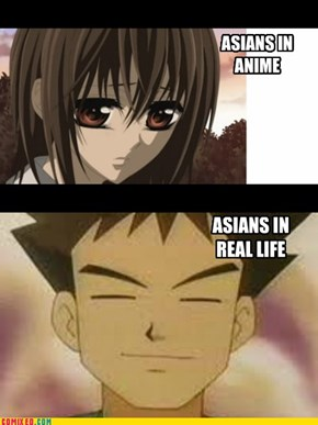 Realistic Asians