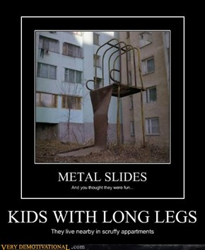 KIDS WITH LONG LEGS