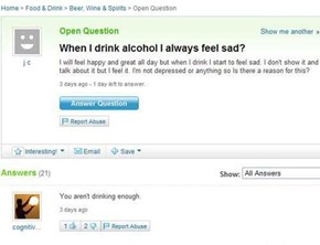 Just Keep On Drinking