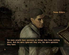 Fallout New Vegas and the Internet in a Nutshell