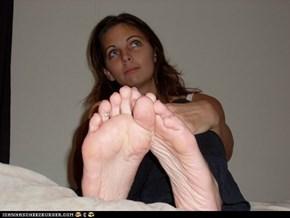 Kara's Feet