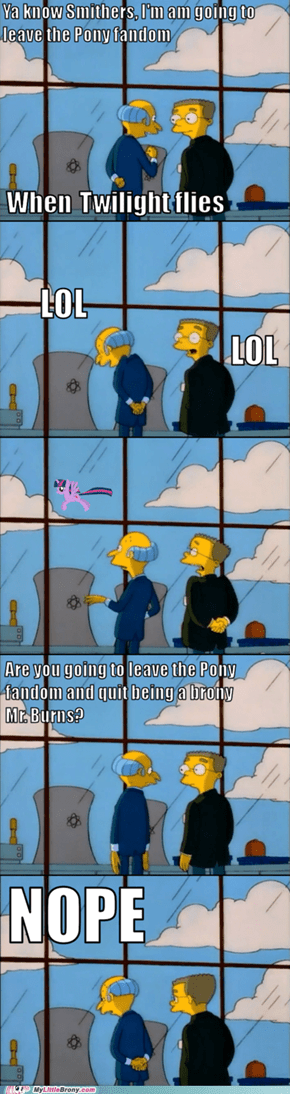 Smithers, who is that Pony?