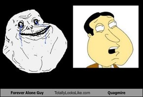 Forever Alone Guy Totally Looks Like Quagmire