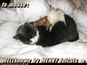 fa·mouse :  WELLknown  by  MENNY  lolcats  ☻