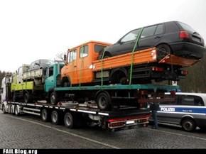 Trucks on Trucks on Trucks