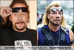 Ace Frehley of KISS Totally Looks Like Dog the Bounty Hunter