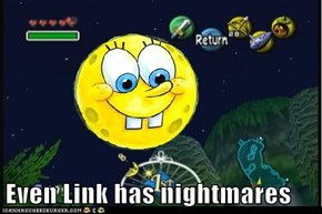 Even Link has nightmares