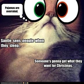 Santie  sees  people  when they  sleep...