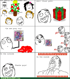 Le Christmas day.