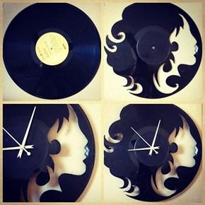 Vinyl Clock WIN