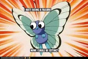 NEVER TRUST BUTTERFREE