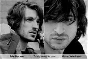 Eoin Macken Totally Looks Like Mister John Lewis