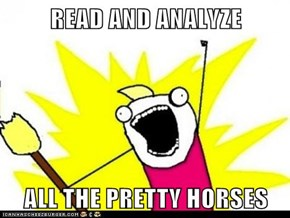 READ AND ANALYZE  ALL THE PRETTY HORSES