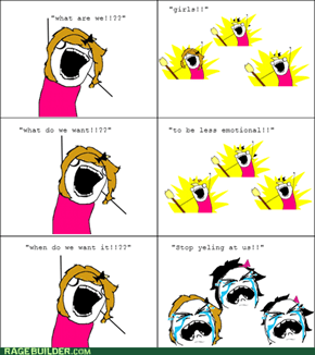 girls rage