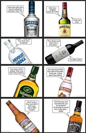 Your Alcohol Knows How You Feel